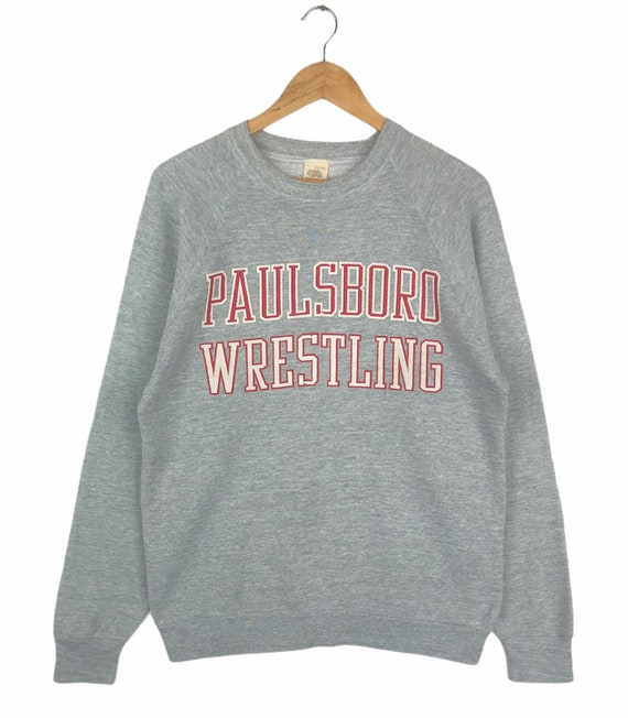 Vintage 90s Paulsboro Wrestling Crewneck