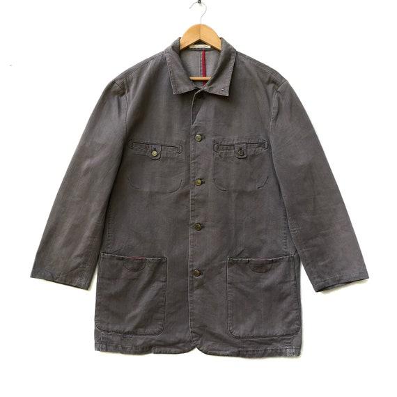 Vintage Japanese Brand Papas Chore Jacket