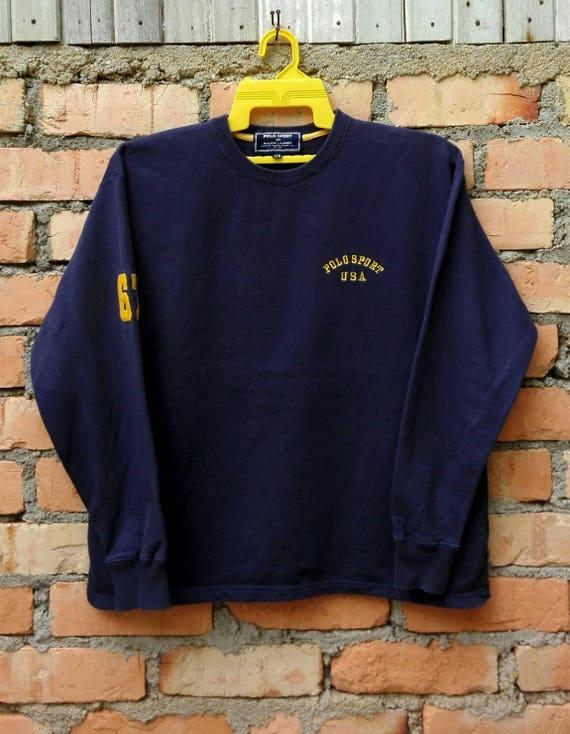 Rare!!! Polo Sport USA Sweatshirt Medium Size