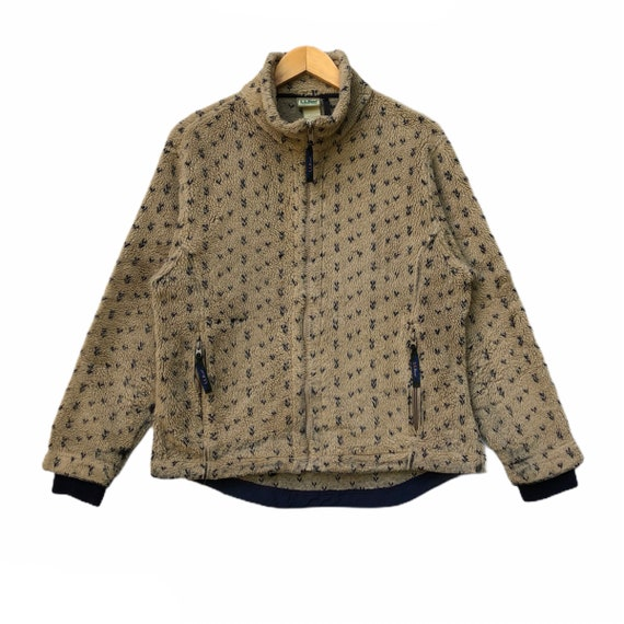 Rare!!! LL Bean Fleece Sweater