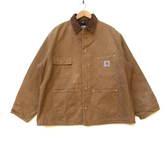 Rare!!! Carhartt Denim Chore Jacket