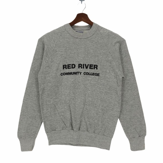 Vintage 80s Red River Community College Canada Cre