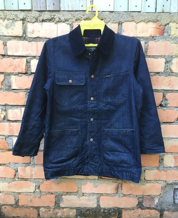Rare!!! Vintage Wrangler Chore Jacket