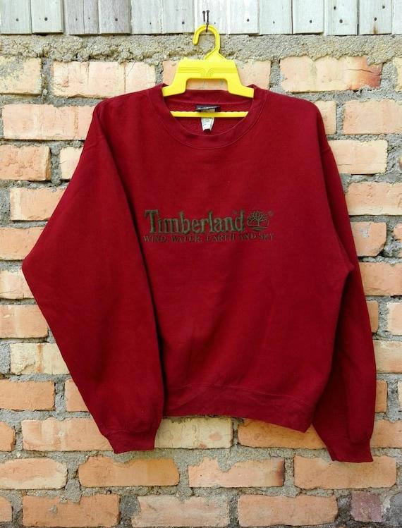 Rare!!! Timberland Pullover Sweatshirt  Large Size