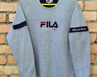 Rare!!! Fila Biella Italia Pullover