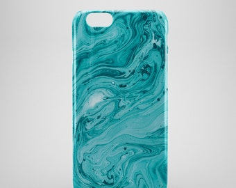 Teal Marble iPhone 6 Case, iPhone 6s case, iPhone 6 Plus Case, iPhone 5 Case, iPhone 5S Case, iPhone 5C Case, iPhone 6s plus case