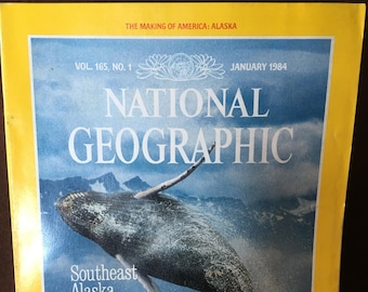 National Geographic January 1984