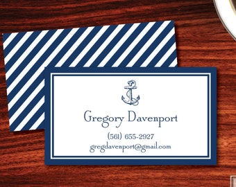 Anchor Calling Cards