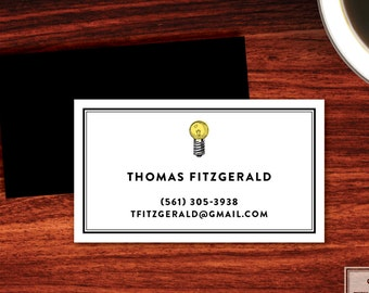 Bright Ideas Calling Cards