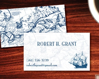 Clipper Ship Calling Cards