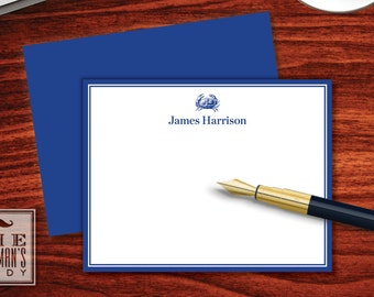 Blue Crab Flat Note Cards