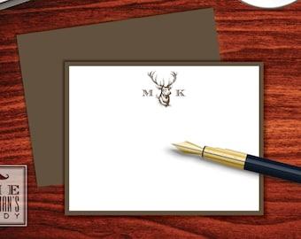 Buck Head Flat Note Cards