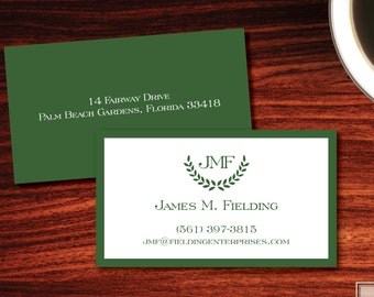 St. Andrews Calling Cards