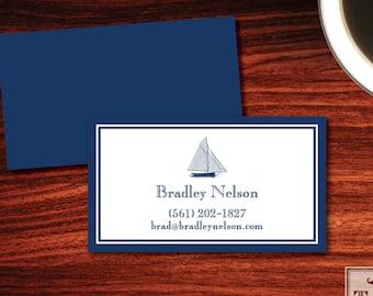 Sailboat Calling Cards