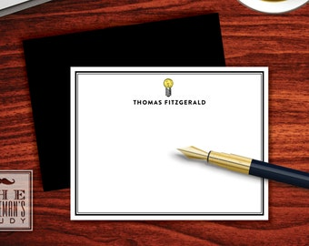 Bright Ideas Flat Note Cards