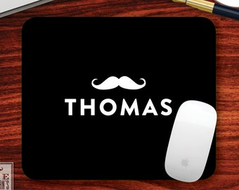 Moustache Mousepad