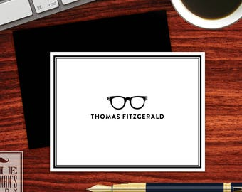 Spectacles Folded Note Cards