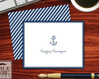 Anchor Folded Note Cards