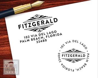 Gatsby Pre-Inked Address Stamp