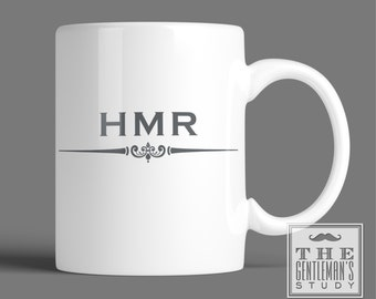 Gramercy Monogrammed Mug