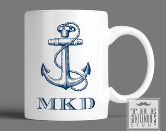 Anchor Personalized Mug