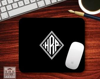 Diamond Monogram Mousepad