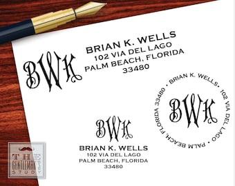 Regency Pre-Inked Address Stamp