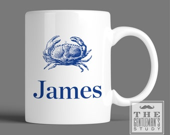 Blue Crab Personalized Mug