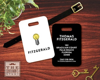 Bright Ideas Personalized Luggage Tag