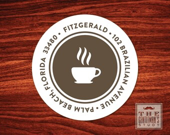 Espresso Address Labels