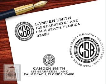 Camden Pre-Inked Address Stamp
