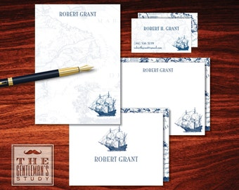 Clipper Ship Big Stationery Bundle