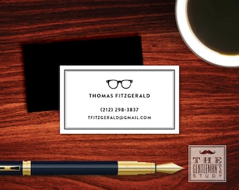 Spectacles Calling Cards