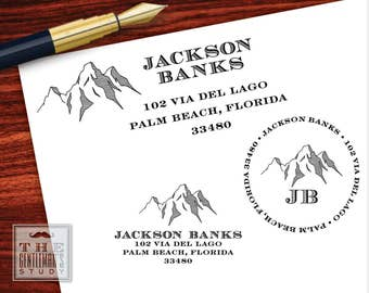Teton Pre-Inked Address Stamp