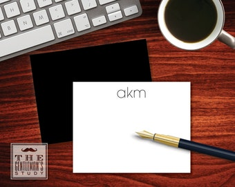 Modern Flat Note Cards