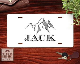 Teton Personalized License Plate