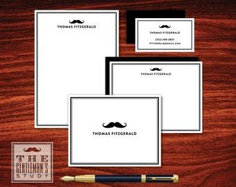 Moustache Stationery Sampler