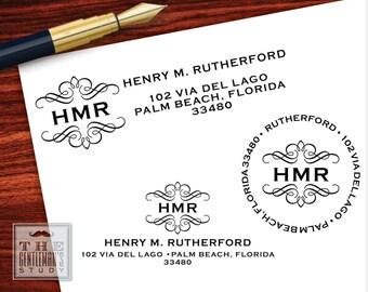 Kensington Pre-Inked Address Stamp