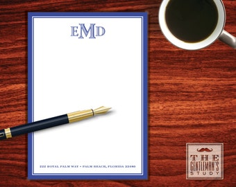Colonial Monogram Notepad