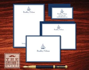 Sailboat Stationery Sampler