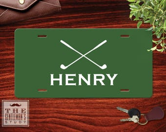 Fairway Personalized License Plate