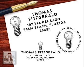 Bright Ideas Pre-Inked Address Stamp