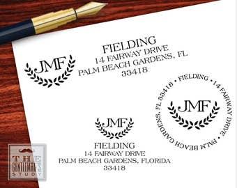 St. Andrews Pre-Inked Address Stamp