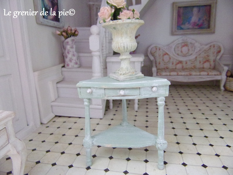 1:12 Dollhouse Miniature Furniture Room Mini Candlesticks White Candles 1 Pair \
