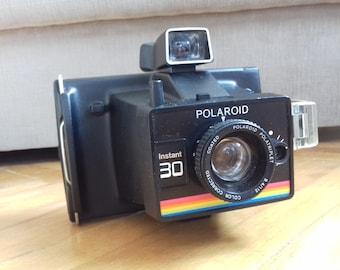 Vintage Polaroid Instant 30 Camera/Retro camera from 70's made in UK
