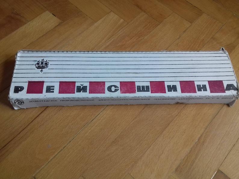 Vintage Soviet Drawing Ruler-Leningrad IR 2 in original case from 80/'s \u041b\u0435\u043d\u0438\u043d\u0433\u0440\u0430\u0434 \u0418\u0420 2