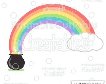 Pot Of Gold Clipart Etsy