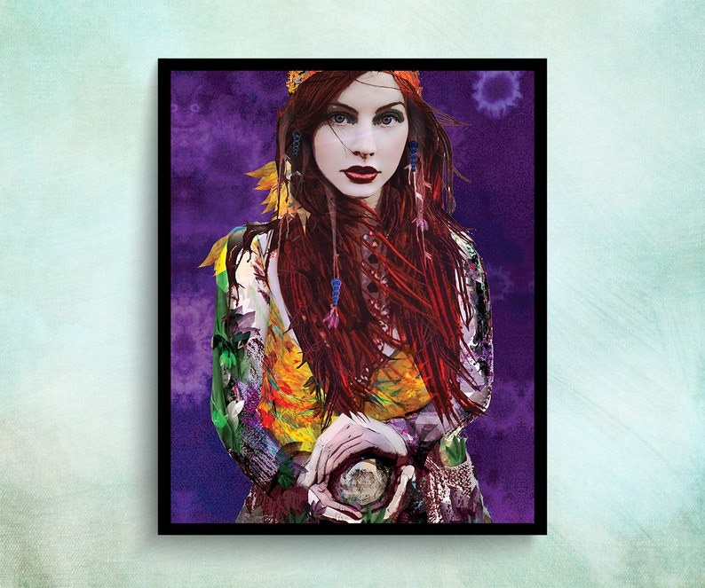 Cool Wall Poster Boho Prints Gypsy Soul Teenage Girl Room Etsy