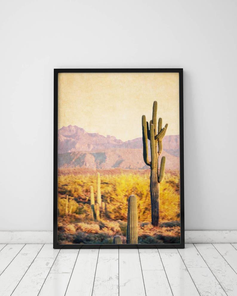 8ee0555bfff Cactus Print Desert Print Cactus Poster Desert Art Desert