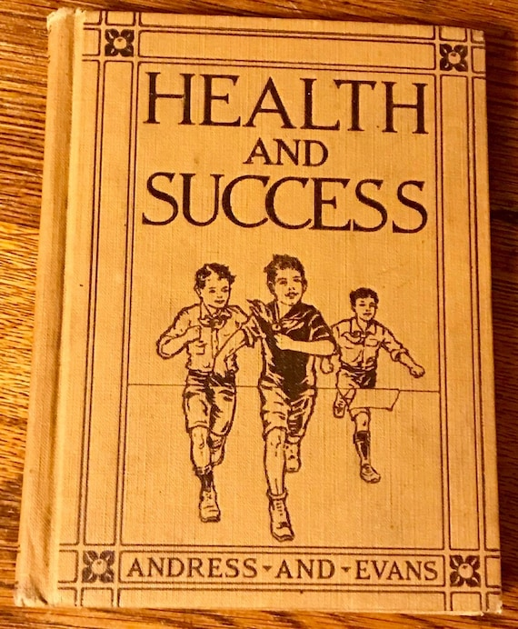 Vintage Health and Success Book for Children